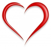 red-love-heart
